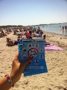 Big Slap, Strand, Flyer, 2 augusti